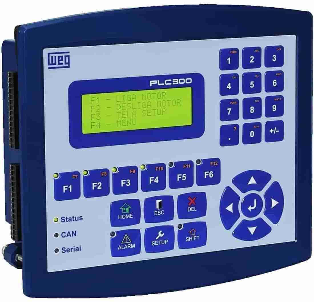 CONTROLADOR PROGRAMABLE PLC300